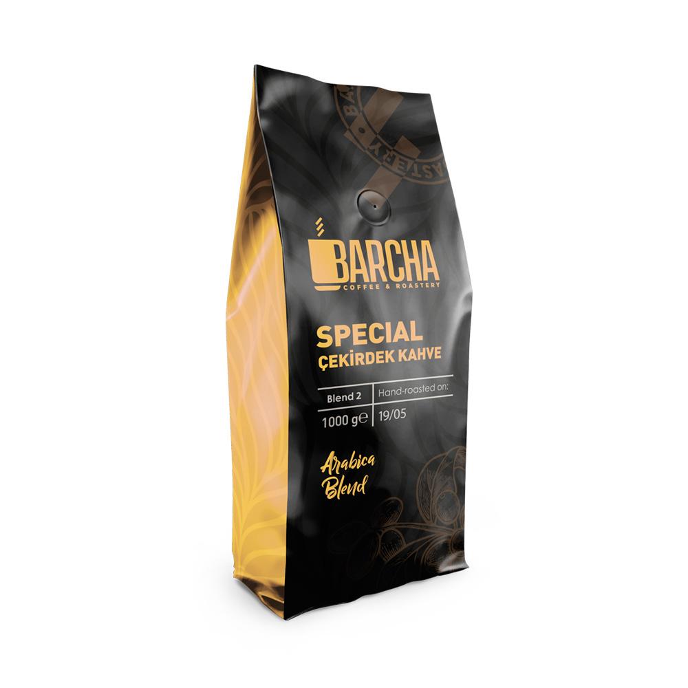 Barcha Special Blend Çekirdek Kahve 1000 Gr