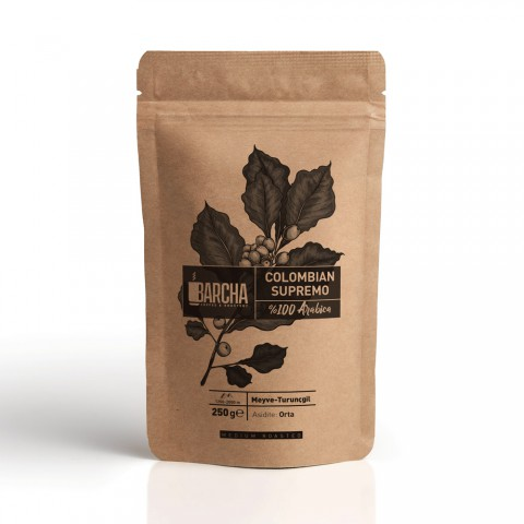 Barcha Colombian Supremo Filtre Kahve 250 Gr