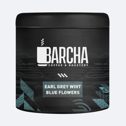 Barcha Early Grey White Blue Flowers Bitki Çayı 125 gr